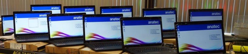 installatie van laptops