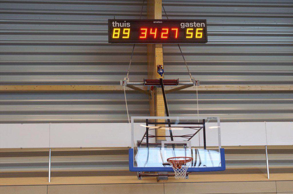 AK 8.24 IRY indoor- outdoor scorebord voor  voetbal, korfbal, handbal etc.
