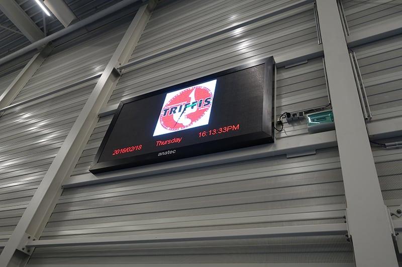 indoor led scherm voor turnen in alkmaar