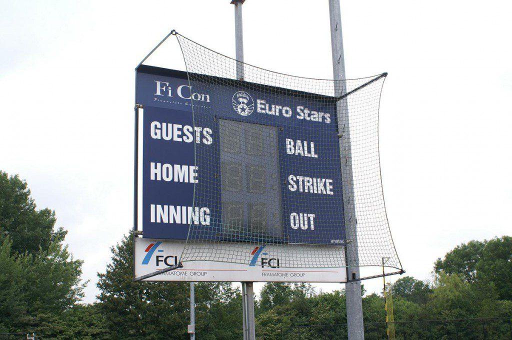 Honkbal scorebord