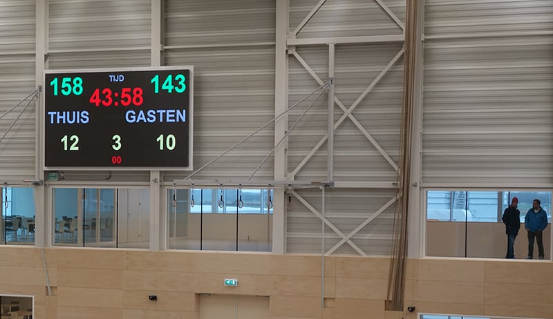 indoor led display in zwolle