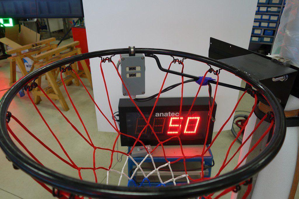 basket met teller